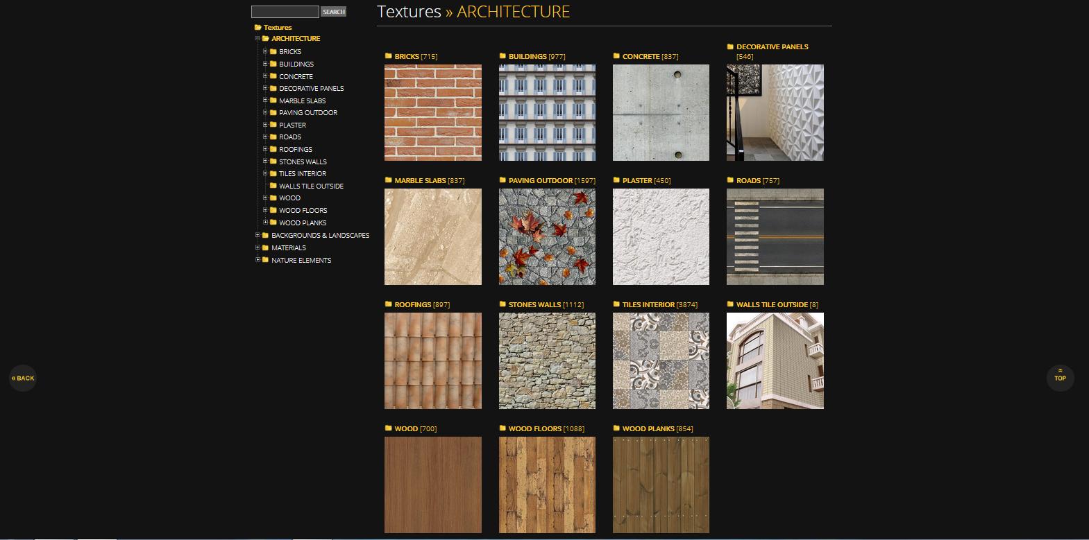 Darmowe tekstury od Sketchup Texture Club - Blog