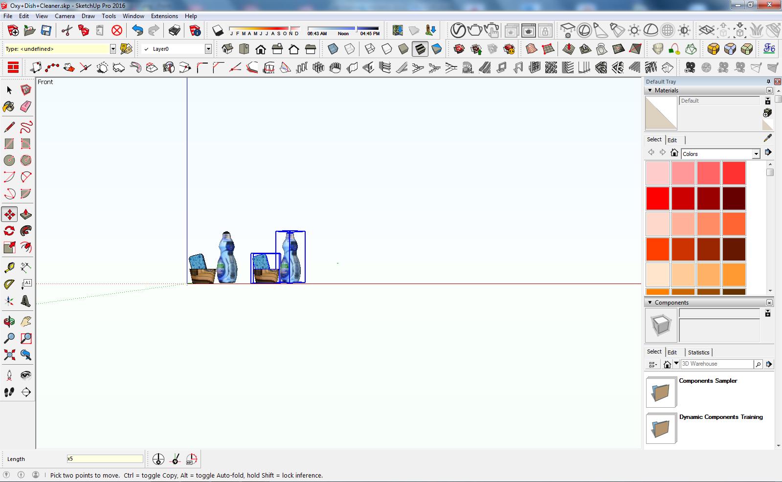 Sketchup - Kopiowanie obiektów na kilka sposobów - Poradnik,tutorial