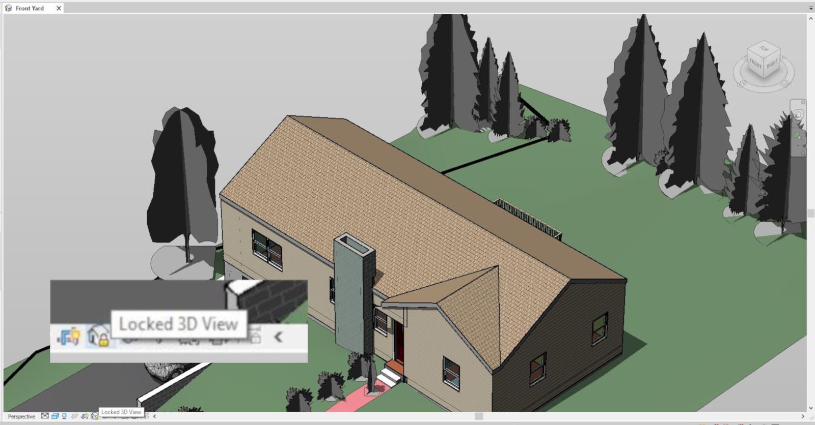 Revit - Jak zablokować widok 3D? - Tutorial, poradnik - Blog