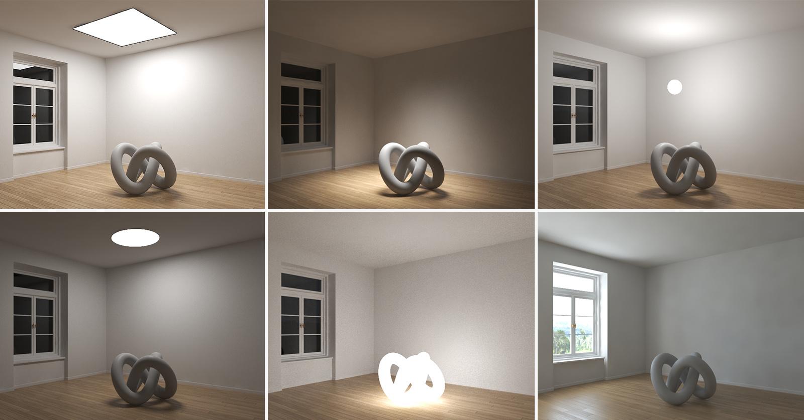 Omówienie świateł V-ray Light - 3ds Max - Poradnik - Blog
