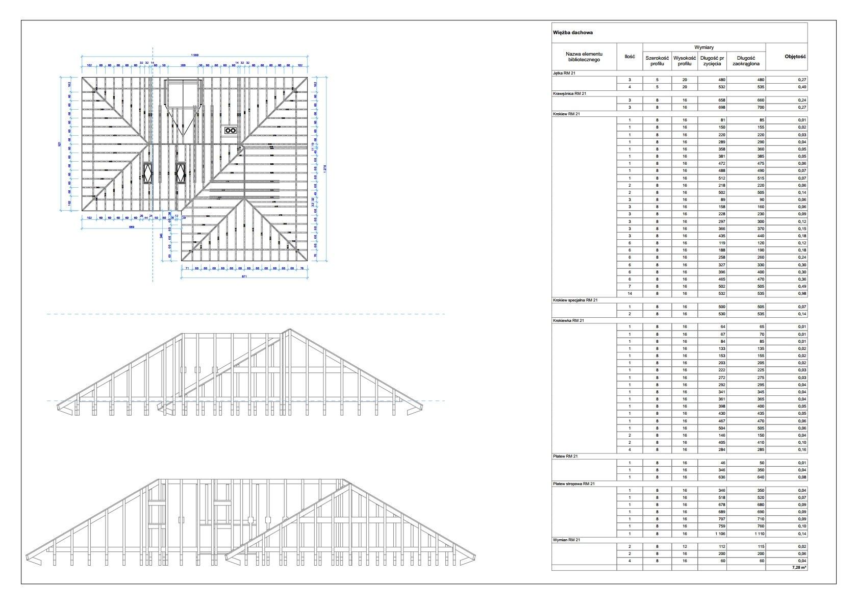 W Mega Kurs Archicad - Tworzenie więźby dachowej z wykorzystaniem Roof MV61