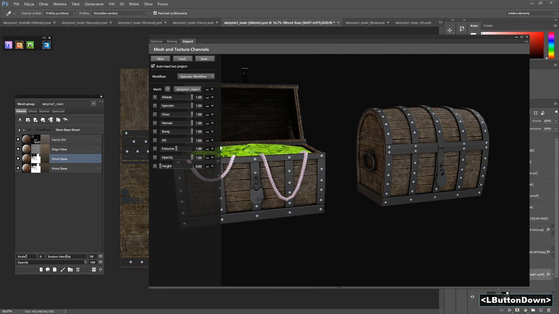 26f245cf7 Kurs - Blender - Quixel Suite - Jak tworzyć modele do gier ...