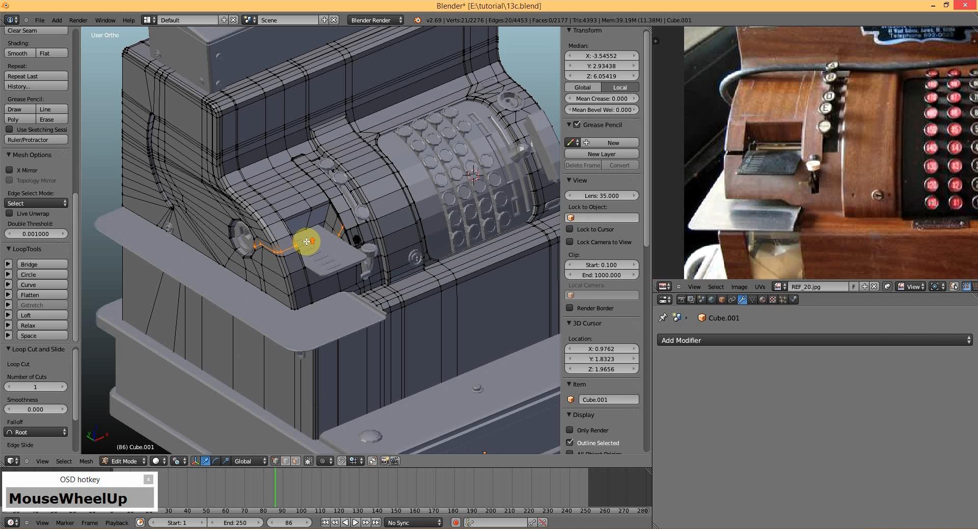 d591c67ca Kurs - Tworzenie modeli do gier - Blender - UDK - CG Wisdom - CG Wisdom